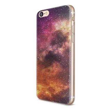 Lopard Apple iPhone 6 Plus Kılıf Galaksi Kapak Renkli